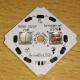 плата для 1-2шт светодиодов 5050 22x22x1.6мм 2S/2P