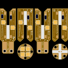 набор плат для W5W T10 для 4-12шт SunLike 3030 D36x12мм 6P2S 60-180мА