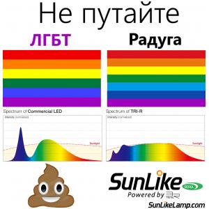"""Солнечные светодиоды VS обычные """"белые"""""""